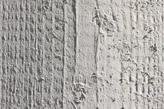 pomalowany poczty biały drewna Fotografia Royalty Free
