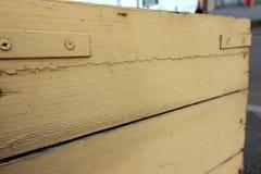 pomalowany tekstury drewna Obraz Royalty Free