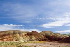 pomalowany wzgórza obrazy stock