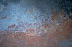 pomaluj kamień wzgórz matopos obrazy stock