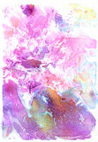 Pomantic Pink watercolor background Royalty Free Stock Image