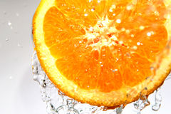 pomarańcze świeże Obrazy Royalty Free