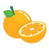 pomarańcze, świeże owoce Obrazy Royalty Free