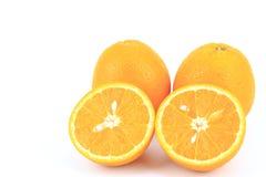 pomarańcze, świeże owoce Zdjęcie Royalty Free