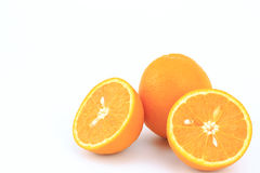 pomarańcze, świeże owoce Zdjęcie Stock
