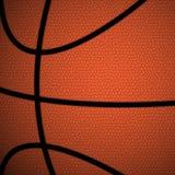 Pomarańcze, Brown koszykówki zakończenie w górę tła/ Fotografia Stock