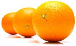 pomarańcze całe Zdjęcie Stock