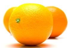 pomarańcze cały dojrzały Zdjęcia Royalty Free
