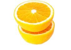 Pomarańcze cięcie Zdjęcie Stock