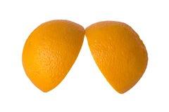 Pomarańcze cięcie Obraz Stock