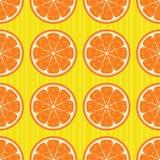 pomarańcze deseniują bezszwowego Fotografia Royalty Free