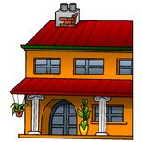 Pomarańcze dom Zdjęcie Royalty Free