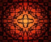 Pomarańcze i koloru żółtego kwadratów tło Obrazy Stock