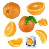 Pomarańcze inkasowe obraz stock