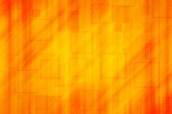 Pomarańcze kwadratowy abstrakcjonistyczny tło Fotografia Stock