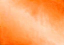 Pomarańcze malujący Abstrakcjonistyczny tło Fotografia Royalty Free