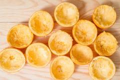 Pomarańcze, mandarynka, tangerine odgórnego widoku przyrodni śmieci zdjęcie stock