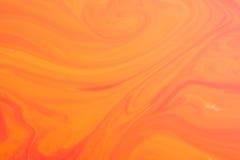 Pomarańcze marmurowa tekstura Obraz Stock