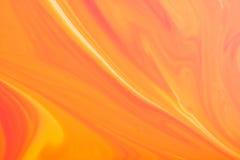 Pomarańcze marmurowa tekstura Obraz Royalty Free