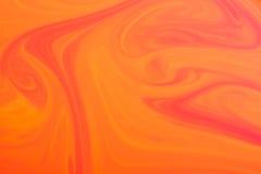 Pomarańcze marmurowa tekstura Zdjęcia Stock