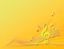 Pomarańcze melodia ilustracji