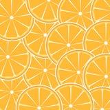 Pomarańcze owocowy abstrakcjonistyczny tła wektor royalty ilustracja