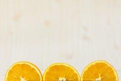 Pomarańcze, owocowy tło, połówka, zakończenie up Fotografia Royalty Free