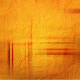 Pomarańcze papier Obrazy Stock