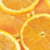 pomarańcze pokrajać Obrazy Stock