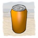 Pomarańcze puszka Zdjęcie Stock