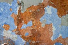 Pomarańcze strugająca ściana Obrazy Stock