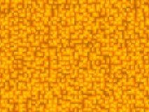 Pomarańcze tła kwadratowy wzór z gradated brzmieniami obraz royalty free