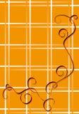 pomarańcze tło Obrazy Stock