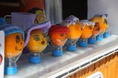 Pomarańcze uśmiech, humor Zdjęcia Stock
