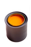 pomarańczową farbę Zdjęcie Stock