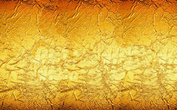 Pomarańczowa Żółtego złota tła tekstura obraz royalty free