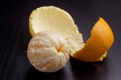 Pomarańczowa łupa fotografia royalty free