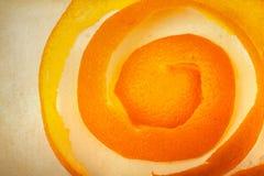 Pomarańczowa łupa Zdjęcia Royalty Free