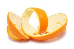 pomarańczowa łupa Zdjęcie Stock