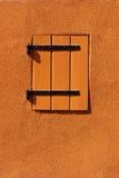 Pomarańczowa żaluzja zdjęcie royalty free
