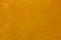 Pomarańczowa betonowa ściana Obraz Stock
