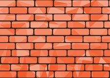 Pomarańczowa cegła Fotografia Stock