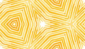 Pomarańczowa Geometryczna akwarela Delikatny bezszwowy wzór Ręka rysujący lampasy Szczotkarska tekstura Imaginati royalty ilustracja