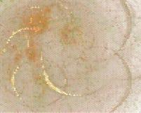 Pomarańczowa kreatywnie abstrakcjonistyczna ilustracja Łaciasty halftone skutek Wektorowa klamerki sztuka Zdjęcie Royalty Free