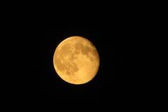 Pomarańczowa księżyc Zdjęcia Stock