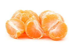 Pomarańczowa mandarynka Zdjęcia Stock