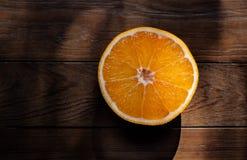 Pomarańczowa owoc w tle obraz stock