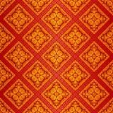 pomarańczowa ozdobna tapeta ilustracji