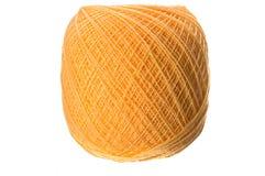 pomarańczowa przędza Fotografia Stock