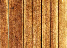 Pomarańczowa stara drewniana ściana Obrazy Stock